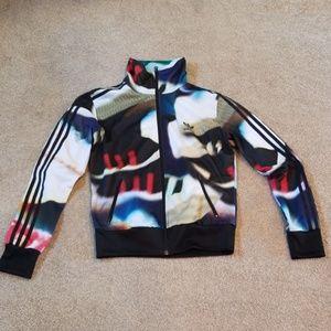 Adidas awesome track jacket Sz M